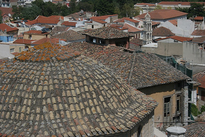 Rooftops of the Old Town in Nafplio