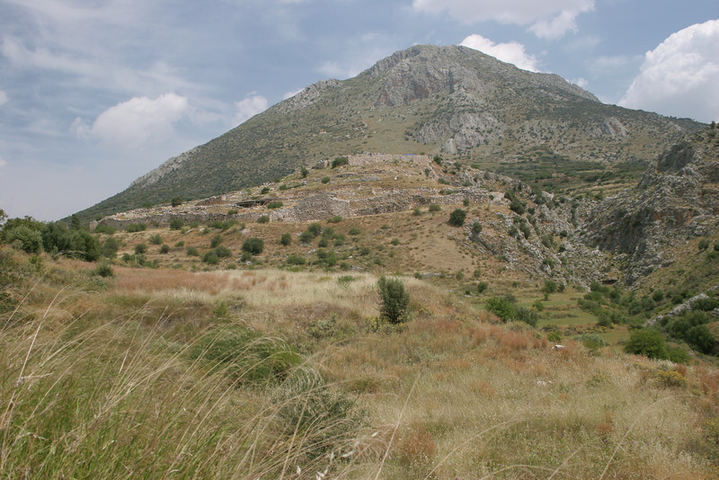 The ancient citadel of Mycenae