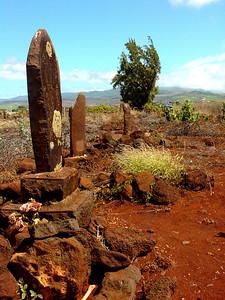 KAUAI Hawaiian graveyard