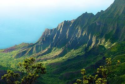 KAUAI Kalalau Lookout, Na Pali