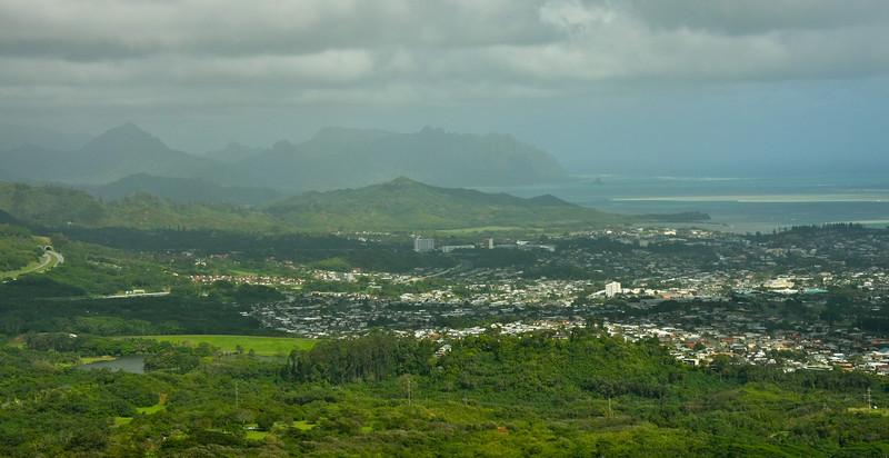 Pali Lookout, Oahu