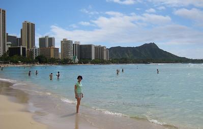 Me on Waikiki Beach