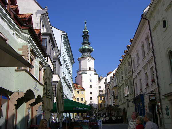 Michael's Gate in Old Town, Bratislava