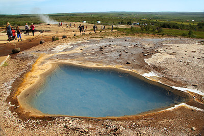 Blesi Hot Spring in the Geysir Geothermal Field in Haukadalur