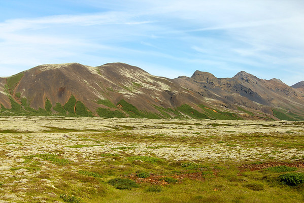"Gorgeous terrain along the ""Golden Circle Route"", a classic sightseeing loop in southwest Iceland."
