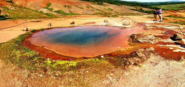 Konungshver (the King's Hot Spring) - Geysir Geothermal Field in Haukadalur