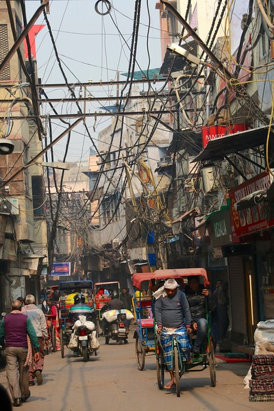 Walking the streets of Old Delhi