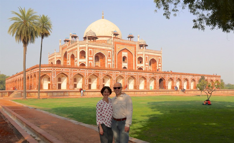Humayun's Tomb - the tomb of the Mughal Emperor Humayun commissioned by Humayun's first wife Empress Bega Begum in 1569-70.