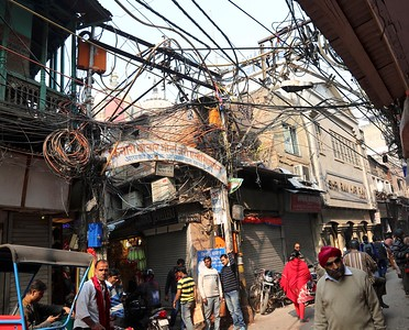 Old Delhi electricity