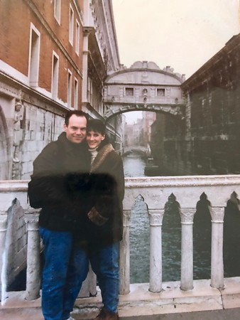 Us on our honeymoon in 1997....
