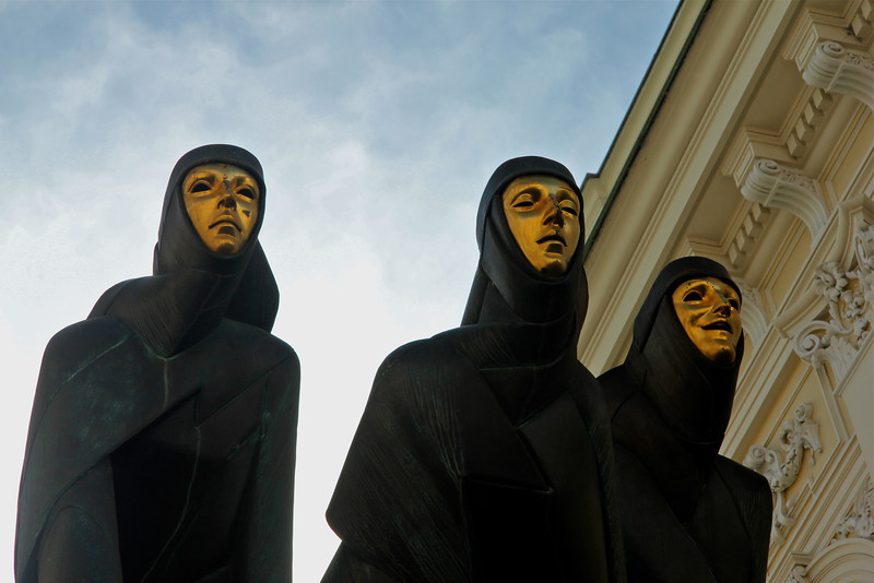 Three Muses -Vilnius, Lithuania