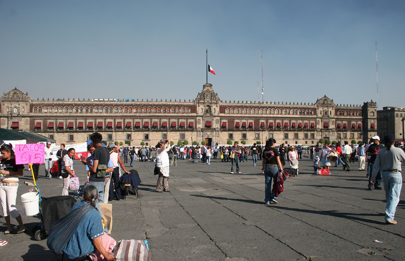 Palacio Nacional (Official residence of the President)