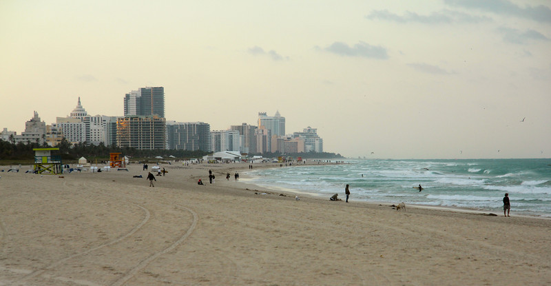 South Beach skyline
