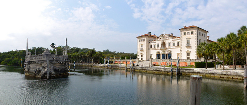 Vizcaya Mansion Built between 1914 and 1916, it was intended to appear as an Italian estate that had stood for 400 years.