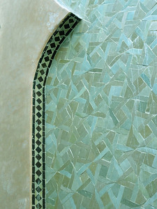 Beautiful tile mosaic