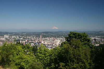 Lovely Portland and Mt. Hood