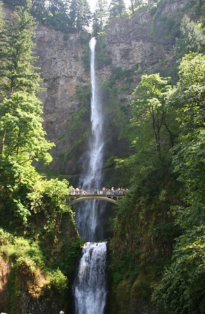 Multnomah Falls along the Gorge