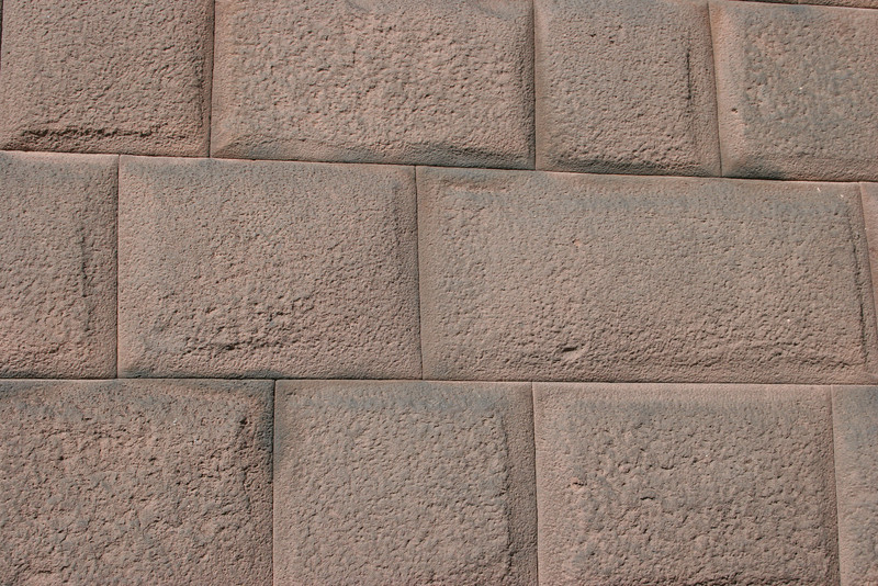 Part of the oldest surviving Incan wall in Cusco