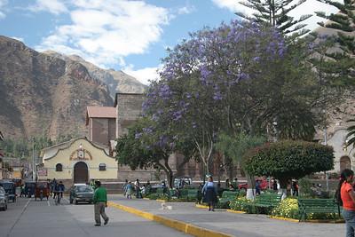 The town of Urubamba