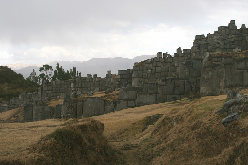 The ruins at Sacsayhuaman