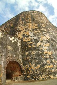 The immense walls of Castillo San Felipe del Morro