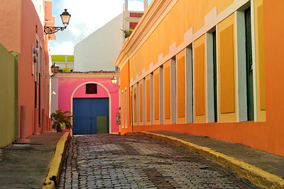What I loved most about Old Town...it's colorful, charming surprises around each corner!