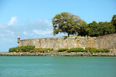 Outer walls of Castillo San Felipe del Morro