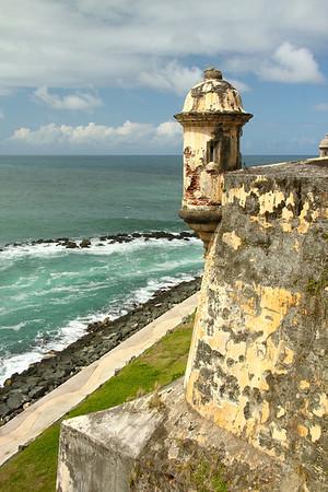 Watchtower of Castillo San Felipe del Morro