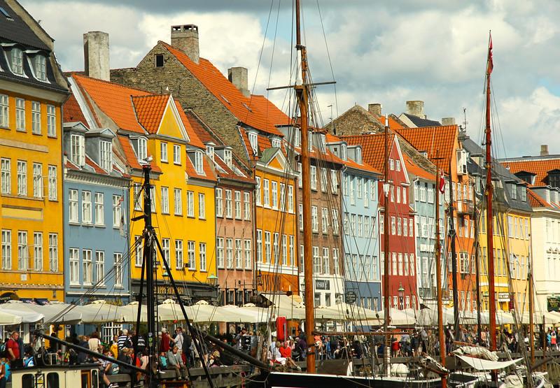 Nyhavn harbor Copenhagen, Denmark