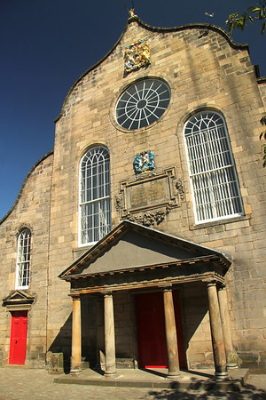 17th century Canongate Kirk (Church)