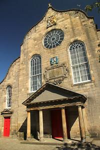 17th century Canongate Kirk (Church)