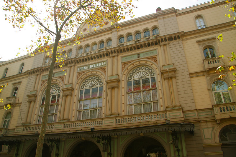 The Opera House, opened in 1847