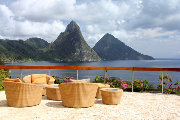 Couldn't you just live here forever?!!!!! Jade Mountain Resort -St. Lucia