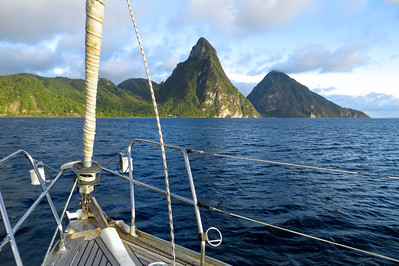 Boat trip -St. Lucia