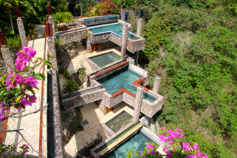 Pools at Jade Mountain Resort -St. Lucia