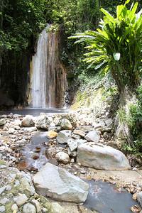 Diamond Falls  Soufriere, St Lucia