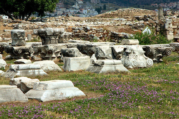 Ruins of Basilica of St. John  - Selcuk, Turkey