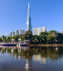 Landmark 81 is the tallest building in Vietnam, just completed in 2018 - Ho Chi Minh City