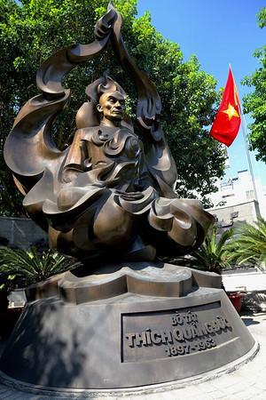 The Venerable Thich Quảng Đức Monument