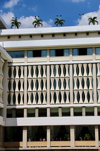 60's architecture of the Independence Palace