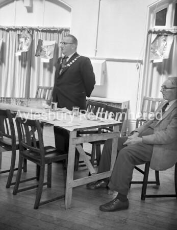 Mayor Cecil Cousins, May 14th 1960