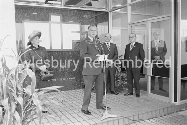 Mayor Maurice Buckingham, Sep 28th 1972