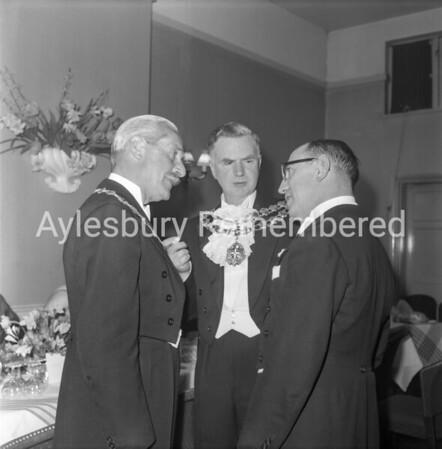 Mayor Maurice Buckingham, Apr 28th 1962