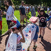 The Annual Childrens' School 4th of July Parade was held on Friday, July 3. Children from the Boy's and Girl's Club as well as the Childrens' school participated.