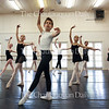 Ian Zelbo, 12, front, stands in a croisé in a rehearsal with other Workshop I ballet students at 2 PM on July 6, 2016, at the Carnahan-Jackson Dance Studios. The Workshop I students rehearsed a piece with their teacher Rebecca Janes in advance of their Workshop I studio show at 1 p.m. on Saturday, July 9, 2016, in the Verdy and McBride studios at the Carnahan-Jackson Dance Studio. Photo by Carolyn Brown.