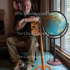 Carl Badger poses for a portrait in his home located next to the Hall of Philosophy on June 16, 2016. Badger has been the gate keeper for the Chautauqua Literary and Scientific Circle graduation ceremony for approximately 50 years.