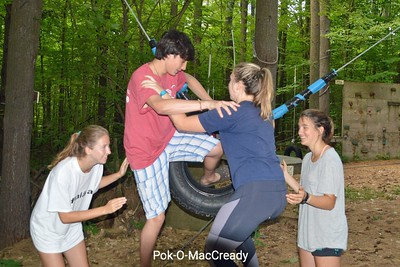 June 19:  Low Ropes Course