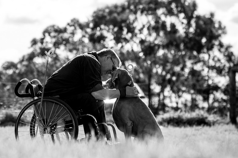 Assistance Dogs and Dog Charities 3rd Place Winner, Ffiona Erskine ©, Australia