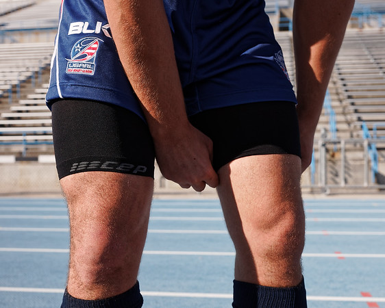 The USA Hawks (USA Rugby League) for CEP Compression at the Rugby League World Cup Qualifiers, 2015.