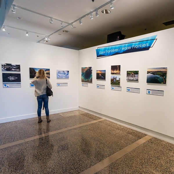 """Water Frontiers"" Exhibition - Biosphere Environmental Museum"